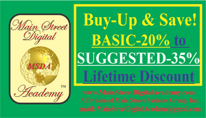 BUY-UP YOUR PURCHASING POWER & SAVINGS! FROM BASIC LEVEL to SUGGESTED LEVEL