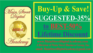 BUY-UP YOUR PURCHASING POWER & SAVINGS! FROM SUGGESTED LEVEL to BEST LEVEL