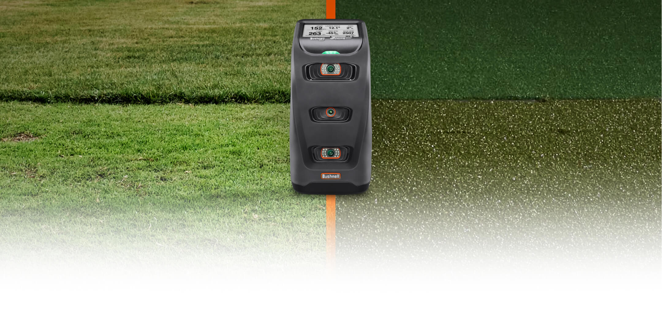 Bushnell Golf Launch Monitors Category Banner Image