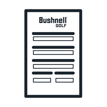 Bushnell Golf return form icon