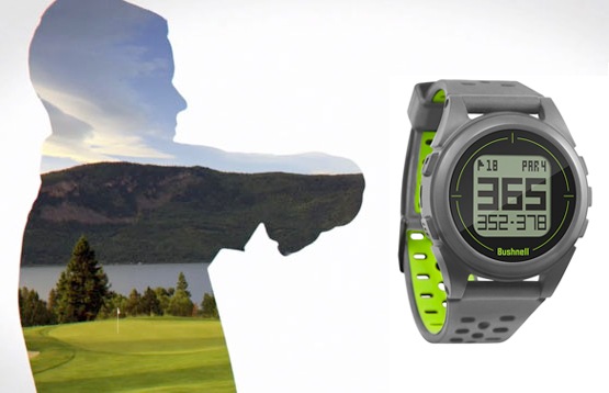 Bushnell Golf iON 2 GPS watch video thumbnail.