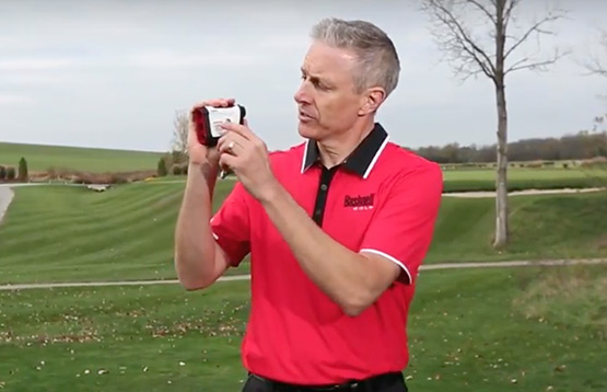 Bushnell Golf Tour V4 Shift laser rangefinder video thumbnail.