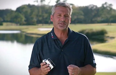What do professional golfers say about the Bushnell Golf Hybrid laser rangefinder + GPS