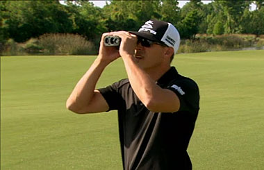 Learn how to know everything about the course with a Bushnell rangefinder in this video.