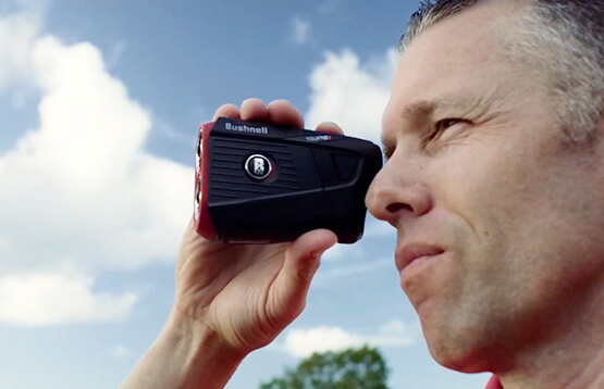 Bushnell Golf Pro XE laser rangefinder thumbnail