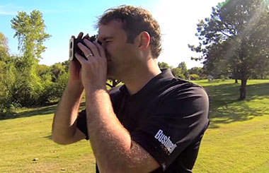Bushnell Golf Tour V6  Laser Rangefinder video thumbnail.