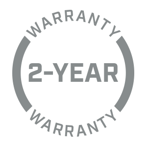 Bushnell Golf 2-year warranty icon.