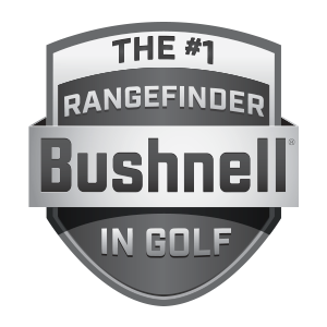 Bushnell Golf Telemetri - Il numero 1 nel logo Golf Shield