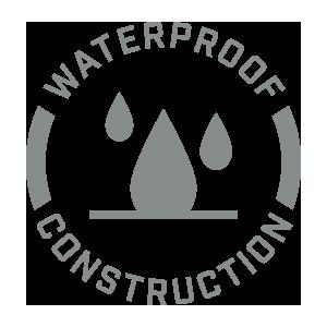 Rugged Waterproof Design