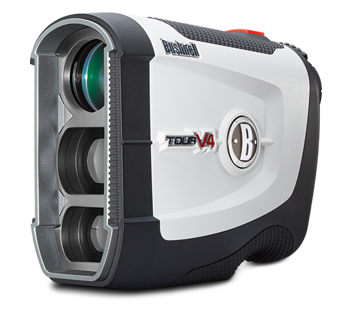 Tour V4 Golf Laser Rangefinder Product Photo Angled