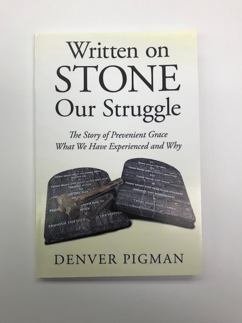 Written On Stone looks at the reality of truth as a person,  the person of God.  It is a look at what we have missed as a people.