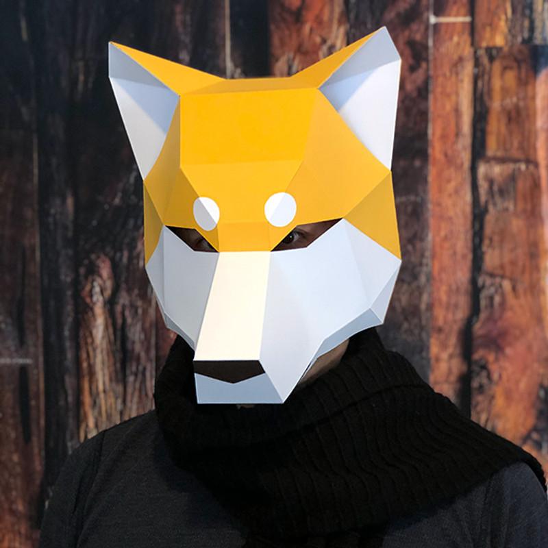 Inugami - Shiba Inu Head Mask