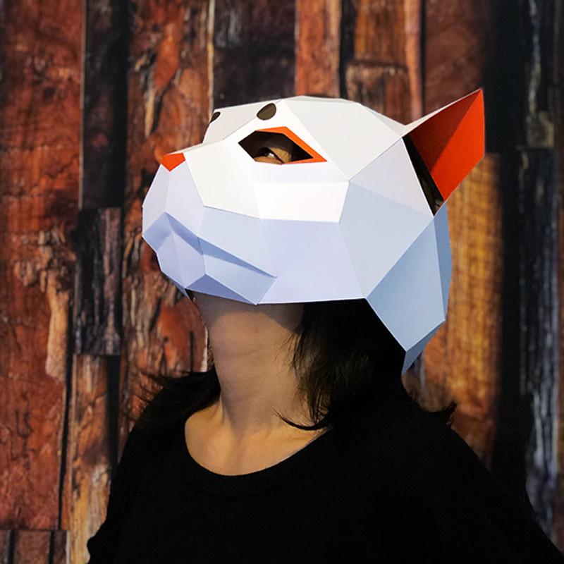 Nekomata - Yokai | Cat Head Mask