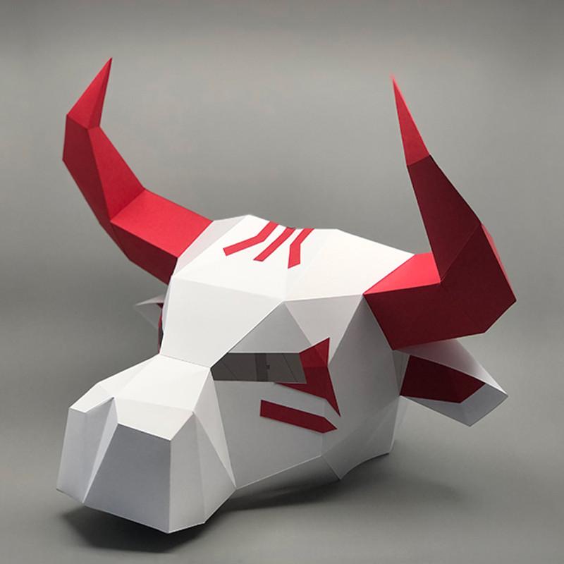 Ushi-Oni - Yokai | Ox Head Mask