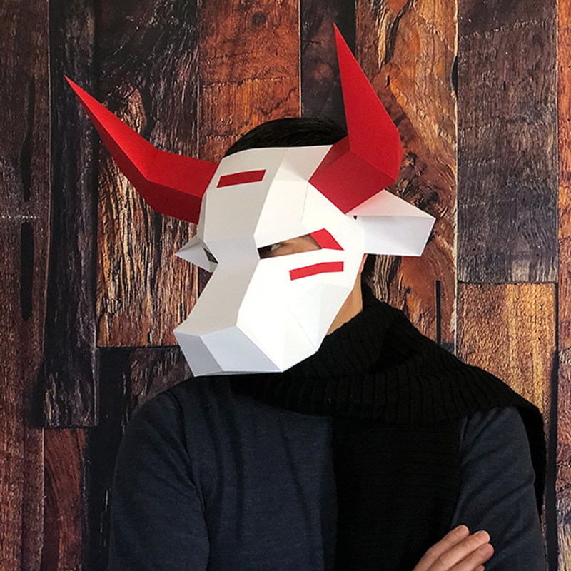 Ushi-Oni - Yokai   Ox Full Mask