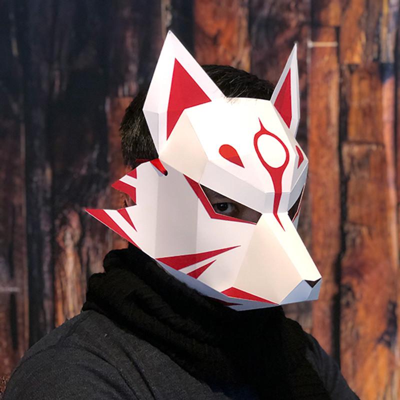 Kitsune - Full Mask