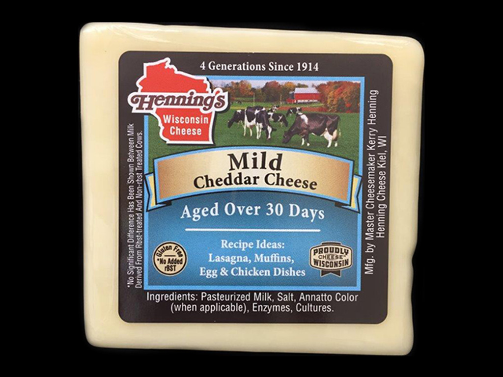 Mild Cheddar Cheese - White