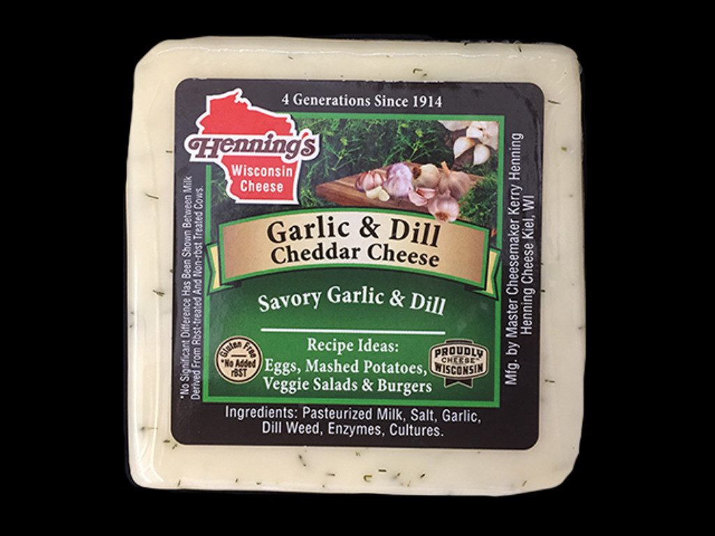 Garlic & Dill Cheddar Cheese
