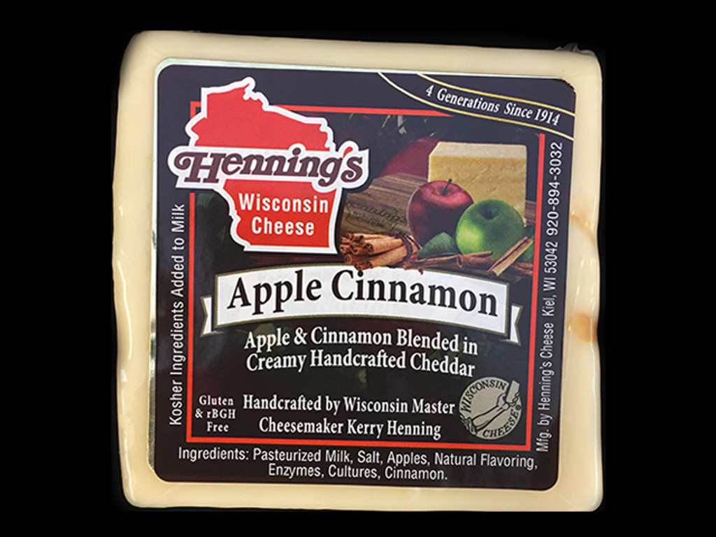 Apple Cinnamon Cheddar Cheese