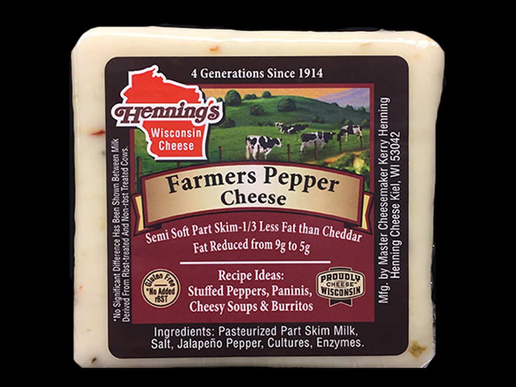 Farmers Pepper Cheese