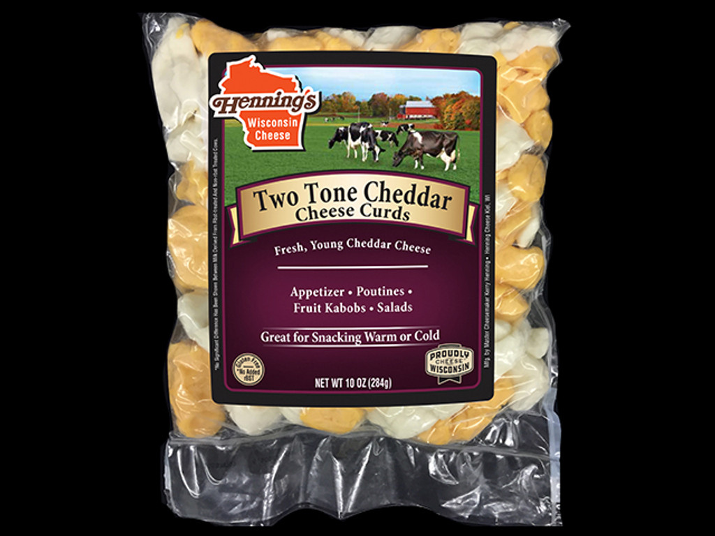 Two Tone Cheese Curds