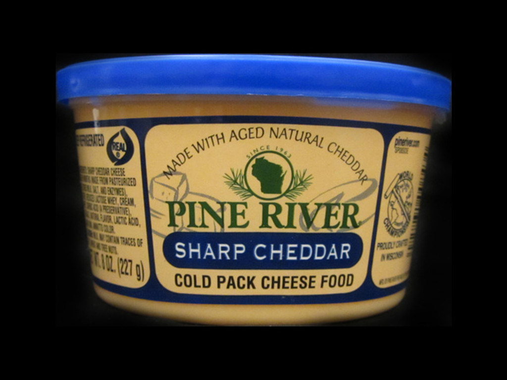 Pine River - Sharp Cheddar Cheese Spread - Small