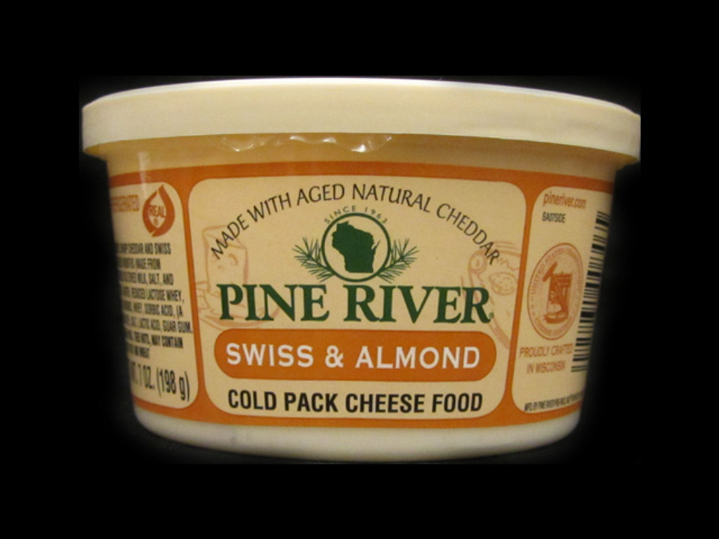 Pine River - Swiss & Almond Cheese Spread - Small