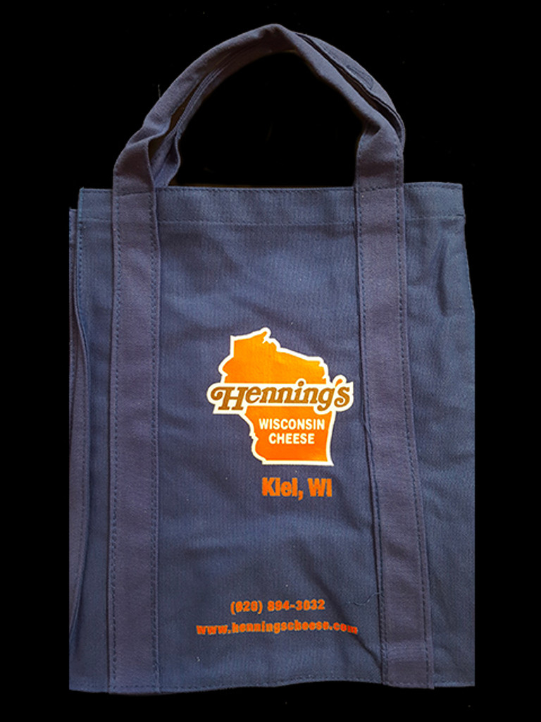 Henning's Cheese Heavy Weight Tote Bag