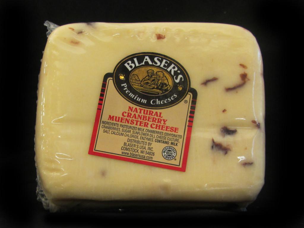 Blaser's - Cranberry Muenster Cheese