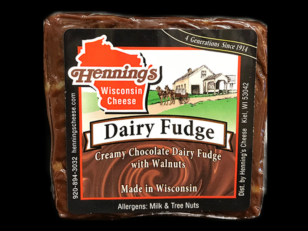 Dairy Fudge with Walnuts