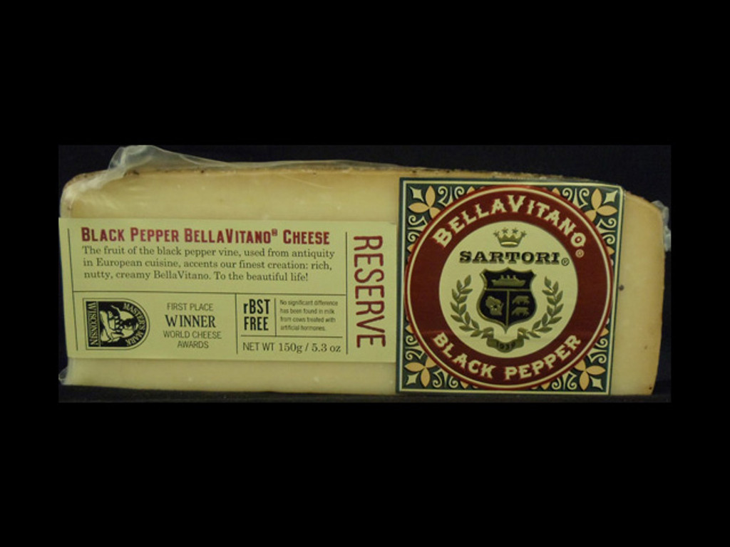 Sartori - Black Pepper Bellavitano