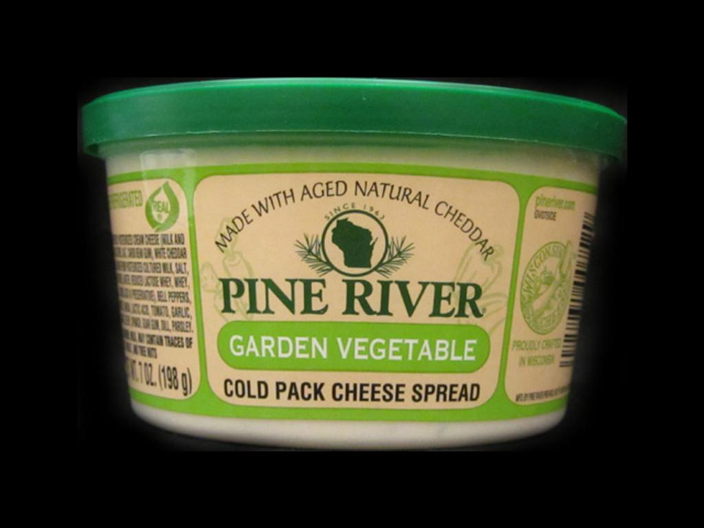 Pine River - Garden Vegetable Cheese Spread - Small