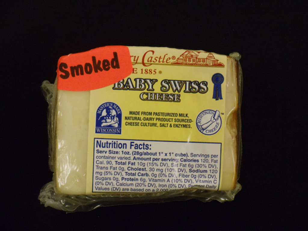 Country Castle - Smoked Baby Swiss Cheese