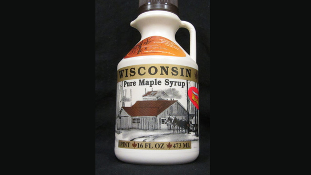 Wisconsin Pure Maple Syrup - 16oz