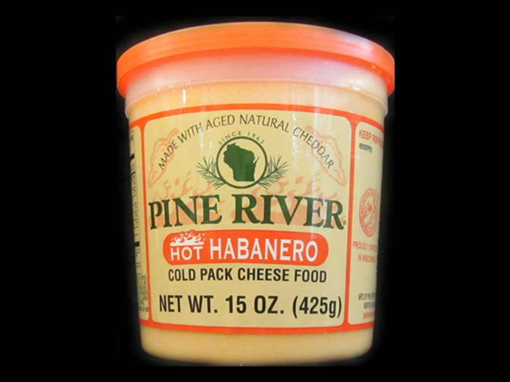 Pine River - Hot Habanero Cheese Spread - Large