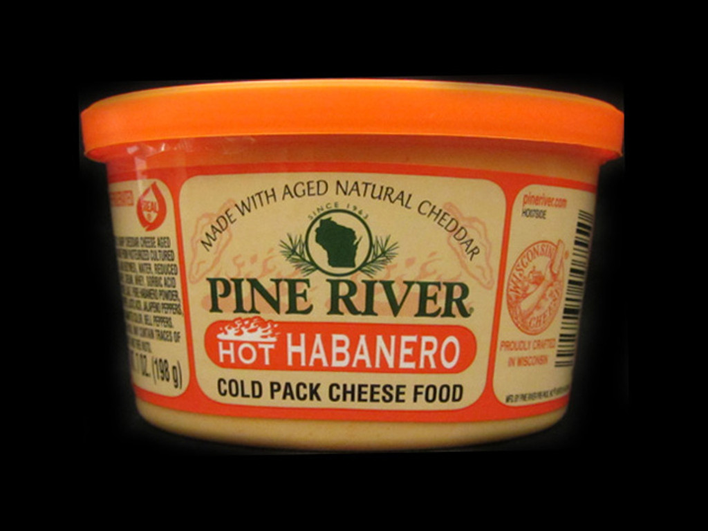 Pine River - Hot Habanero Cheese Spread - Small