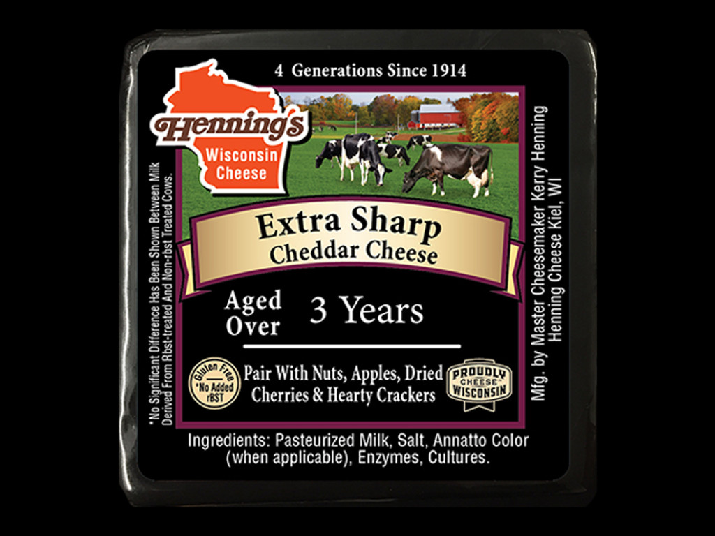 3 year Extra Sharp Cheddar Cheese