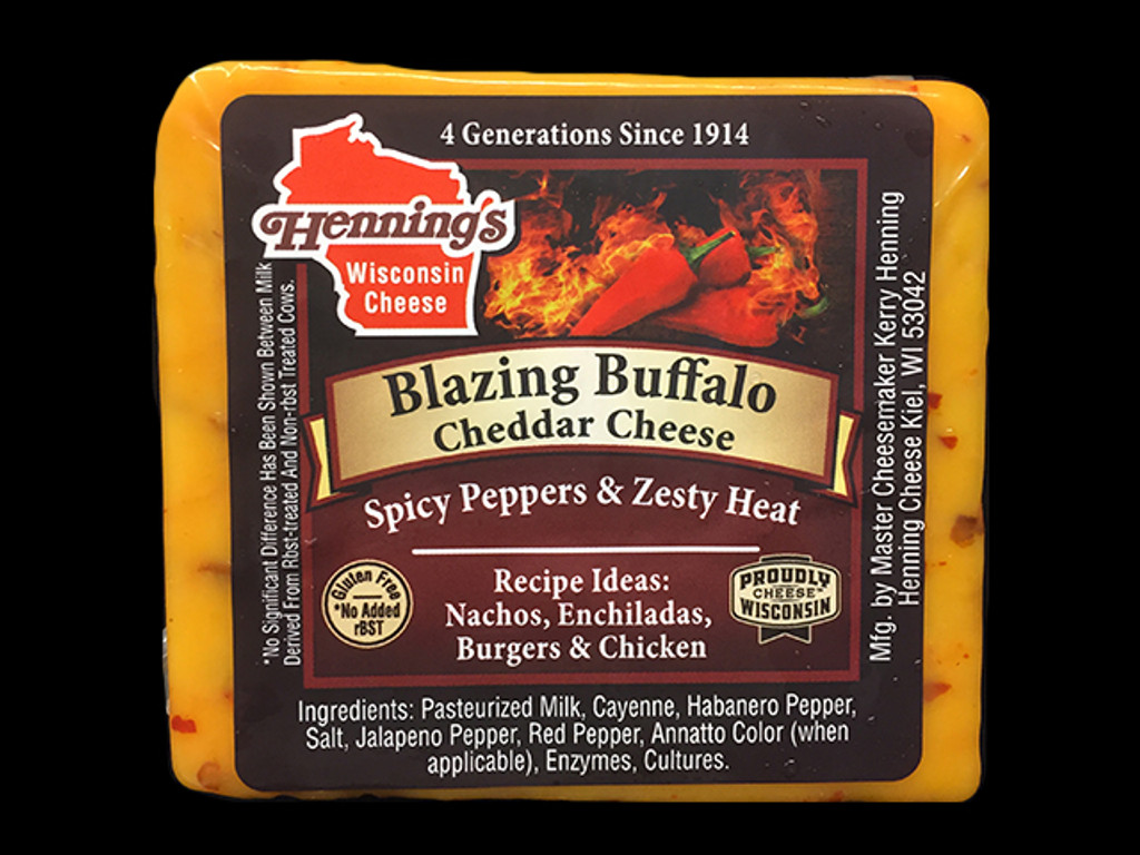 Blazing Buffalo Cheddar Cheese