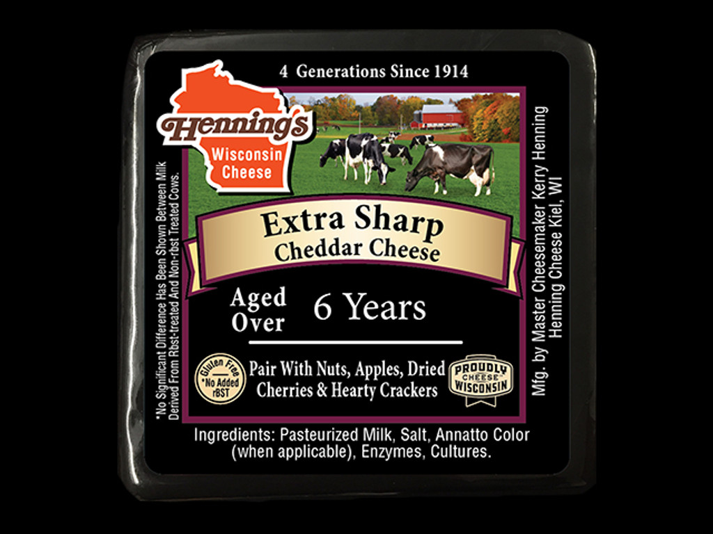 6 year Extra Sharp Cheddar Cheese