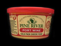 Pine River - Port Wine Cheese Spread - Small
