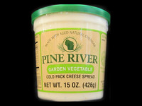 Pine River - Garden Vegetable Cheese Spread - Large
