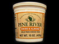 Pine River - Swiss & Almond Cheese Spread - Large
