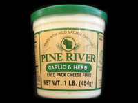 Pine River - Garlic & Herb Cheese Spread - Large