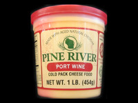 Pine River - Port Wine Cheese Spread - Large