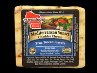 Mediterranean Sunset Cheddar Cheese