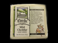 Nordic Creamery - Mild Cheddar Goat Cheese
