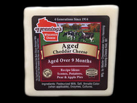 Aged Cheddar Cheese - White