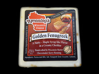 Golden Fenugreek Cheddar Cheese