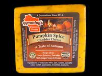 Pumpkin Spice Cheddar Cheese