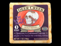 Deer Creek - The Rattle Snake Cheddar Cheese